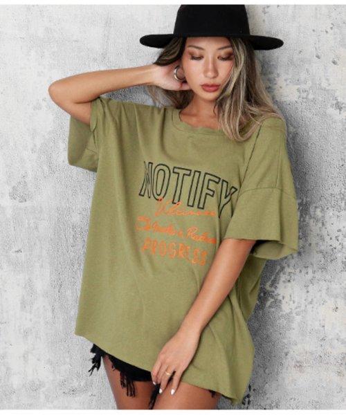 ANAP(アナップ)/カットオフバックオープンTシャツ/0134200361