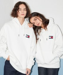 TOMMY JEANS/コットンバッジフーディ/502527527