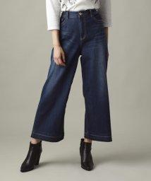 EVEX by KRIZIA/【ウォッシャブル】ホイップデニムワイドパンツ(evex jeans)/502532026