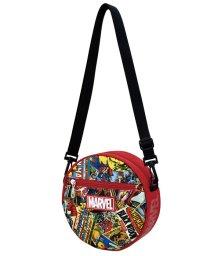RUNNER/マーベル MARVEL コミック柄シリーズ サークルショルダーBAG BK RD ポリナイロン /502533706