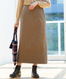 coen/【ムック本掲載】起毛コットンストレッチロングタイトスカート/502533904