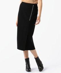 TOMORROWLAND/【セットアップ対応商品】ウールポリエステル パールボタンタイトスカート/502538161