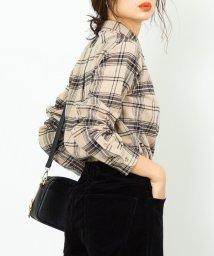 coen/インディアンコットンネルシャツ/502538305