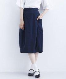 merlot/ビッグポケット付きコクーンスカート/502541727