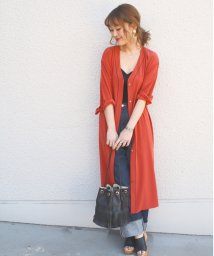 SHIPS WOMEN/【SHIPS for women】PS:LONG GOWN HAORI(SLD)         /502542750