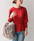 SHIPS WOMEN/【SHIPS for women】(2953)PSO:WAIST SHIRRING KNIT   /502542818