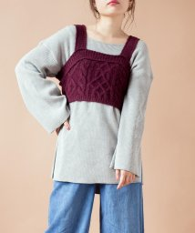 SHIPS WOMEN/【SHIPS for women】(3044)BS:CABLE BUSTIER          /502542821