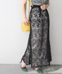 SHIPS WOMEN/【SHIPS for women】(2332)WCO:LACE MAXI SK          /502542872