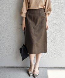 SHIPS WOMEN/【手洗い可能】ポケットタイトスカート◇/502542934