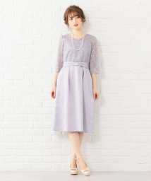 Feroux/レースシックコンパクト ドレス/502543236