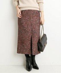 VERMEIL par iena/LIMONTAレオパードジャガードスカート◆/502543772