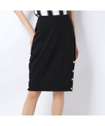 GUESS/ゲス GUESS MARYNA PENCIL SKIRT (JET BLACK)/502544393