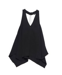 GUESS/ゲス GUESS DALIS CHAIN-BACK TANK (JET BLACK)/502544394