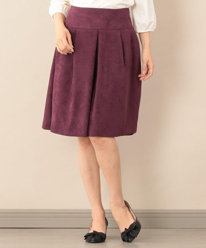 【Sサイズ〜】ピーチスエードスカート