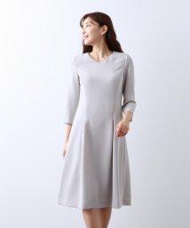 AMACA/【Sサイズ~】トリアセテートストレッチ ドレス/502532051