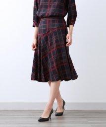 AMACA/【Sサイズ~】プロビスチェック スカート/502532070