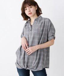 SHOO・LA・RUE/裾ねじりセットシャツ/502543672