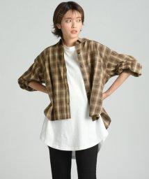 LIPSTAR/ボリュームスリーブチェックシャツ/502544891