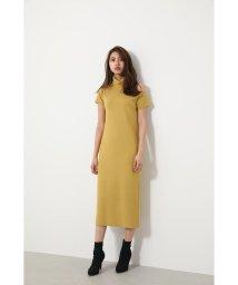 rienda/Open Shoulder Knit OP/502545002