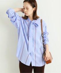 IENA/ストライプボウタイシャツ/502545236