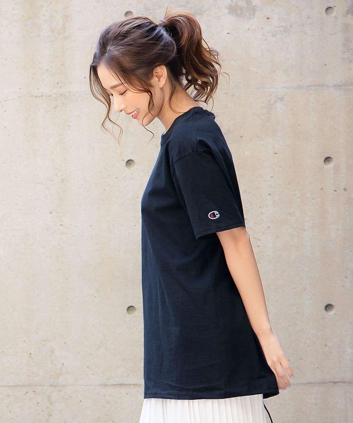 【Champion】ショートスリーブTシャツ