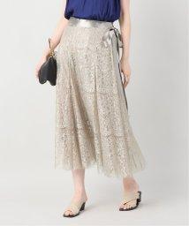 VERMEIL par iena/《追加4》カラーレースラップスカート◆/502546891