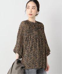 VERMEIL par iena/【LUNE/リュンヌ】Pleated leopard Blouse/502547164