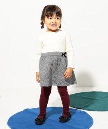 KUMIKYOKU KIDS/【80~100cm】キルトジャガードコンビ ワンピース/502547911
