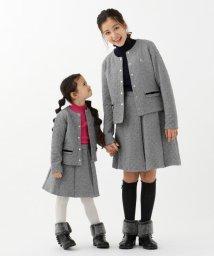 KUMIKYOKU KIDS/【110~140cm】キルトジャガードジャケット/502547928