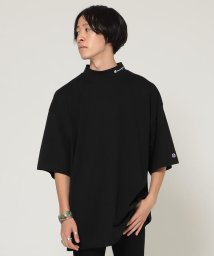 BEAMS MEN/Champion × BEAMS / 別注 モックネック Tシャツ/502476255