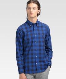 TOMMY HILFIGER MENS/モノグラムチェックシャツ/502527504
