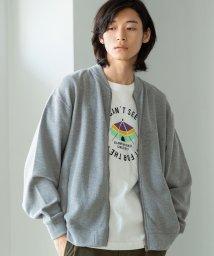 coen/ワッフルジップブルゾン/502535709