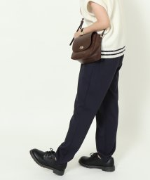 coen/【展開店舗限定】ポンチイージーテーパードパンツ/502535712