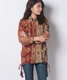 Desigual/WOMAN WOVEN SHIRT 3/4 SLEEVE/502537351
