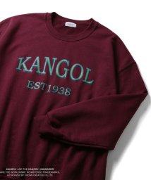 JUNRed/【KANGOL】別注クルーネックスウェット/502547112