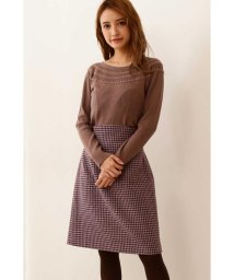 PROPORTION BODY DRESSING/|CanCam 11月号掲載|バックリボン千鳥格子チェックタイトスカート◆/502548396
