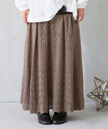 osharewalker/『somari透かし編みニットスカート』/502548501