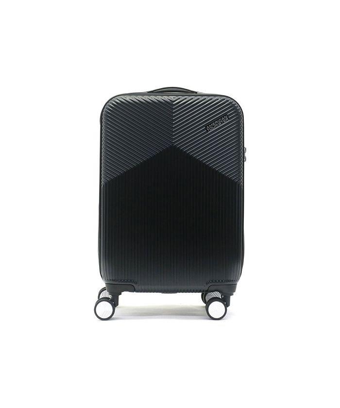 ギャレリア サムソナイト アメリカンツーリスター スーツケース AMERICAN TOURISTER Air Ride Spinner 55 36.5L DL9−001 ユニセックス ブラック F 【GALLERIA】