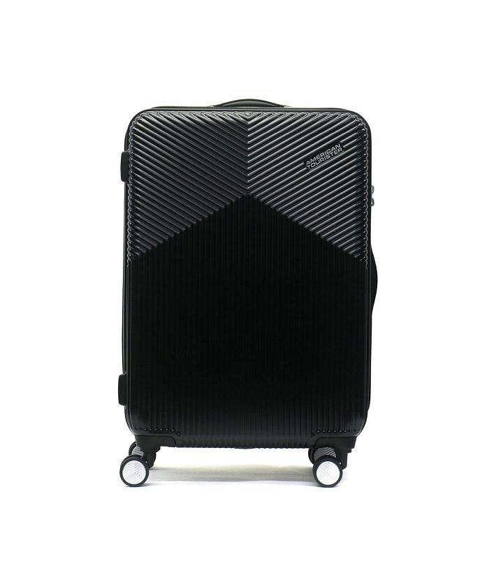 ギャレリア サムソナイト アメリカンツーリスター スーツケース AMERICAN TOURISTER Air Ride Spinner 66 55L DL9−005 ユニセックス ブラック F 【GALLERIA】