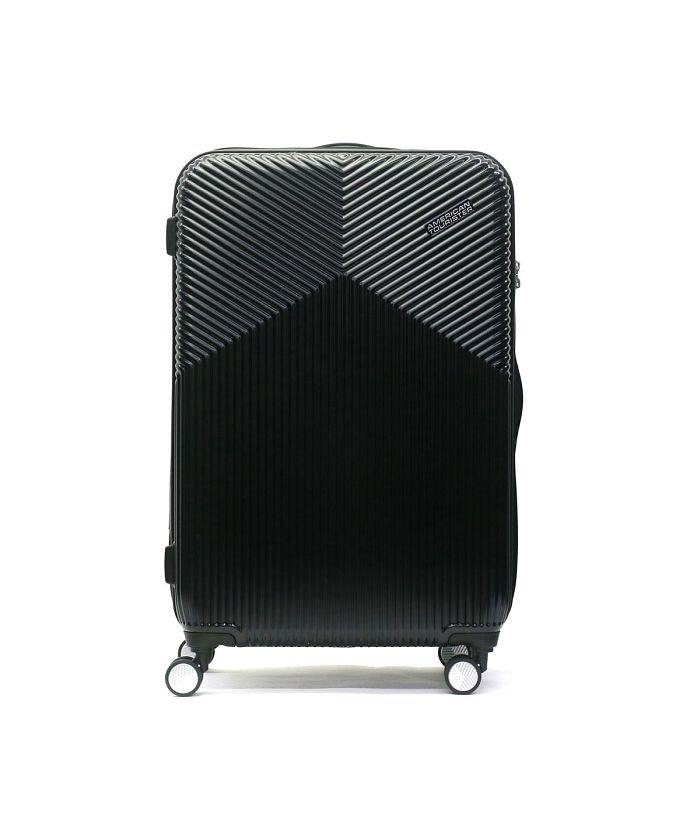 ギャレリア サムソナイト アメリカンツーリスター スーツケース AMERICAN TOURISTER Air Ride Spinner 76 86L DL9−006 ユニセックス ブラック F 【GALLERIA】