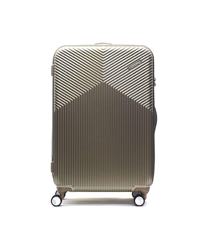 ギャレリア サムソナイト アメリカンツーリスター スーツケース AMERICAN TOURISTER Air Ride Spinner 76 86L DL9−006 ユニセックス ゴールド F 【GALLERIA】