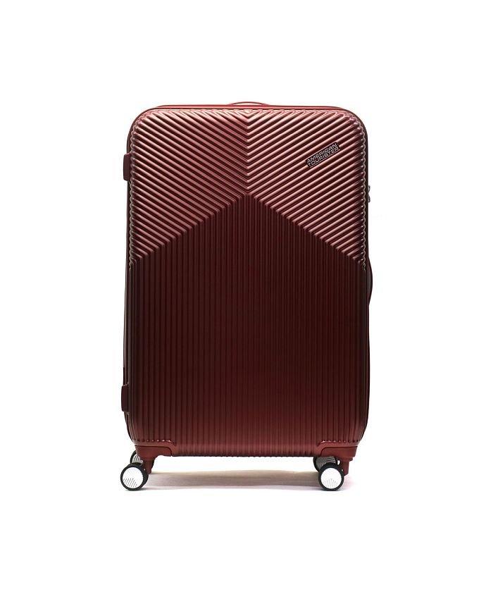 ギャレリア サムソナイト アメリカンツーリスター スーツケース AMERICAN TOURISTER Air Ride Spinner 76 86L DL9−006 ユニセックス バーガンディ F 【GALLERIA】