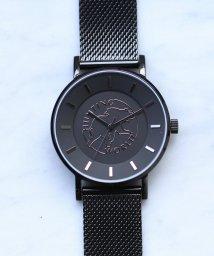 HIROB Ladys/Hunting World ロゴ ウォッチ ブラック/502548915