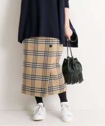 IENA/Wフェイスリバーシブルミッドカーフスカート◆/502551135