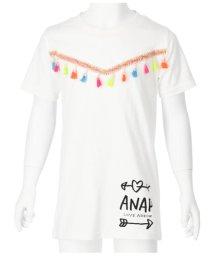 ANAP KIDS/カラフルタッセル付チュニック/502399119
