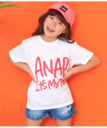 ANAP KIDS/手書きロゴビックTシャツ/502399121