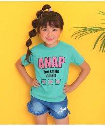 ANAP KIDS/ハート両面プリントTシャツ/502442847