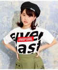 ANAP GiRL/メッセージBOXロゴTシャツ/502454095