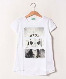 BENETTON (UNITED COLORS OF BENETTON GIRLS)/グリッターガール半袖Tシャツ・カットソー/502539542