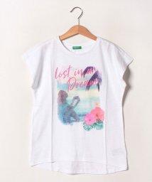 BENETTON (UNITED COLORS OF BENETTON GIRLS)/ワイドスリーブサマー半袖Tシャツ・カットソー/502539543